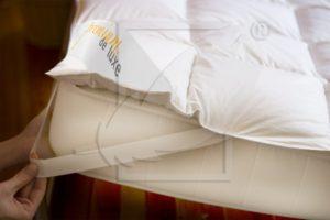Surmatelas en duvet moelleux, un confort incomparable