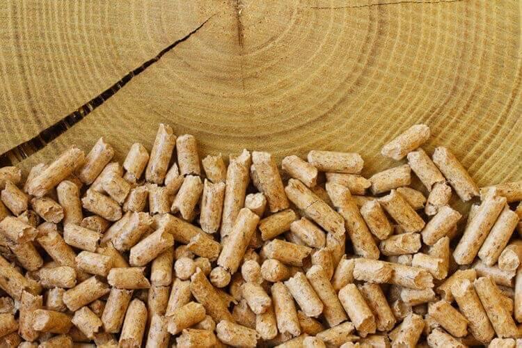 Les granules à bois